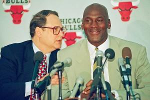 Michael Jordan, Jerry Reinsdorf