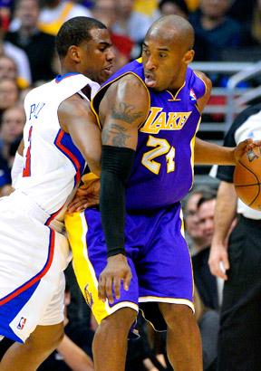 Kobe Bryant and Chris Paul