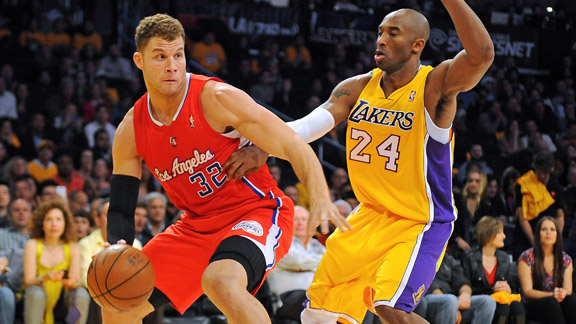 Blake Griffin, Kobe Bryant