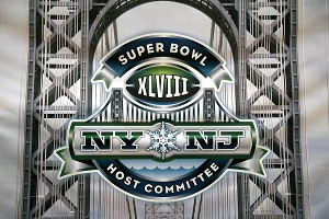 Super Bowl XLVIII committee logo