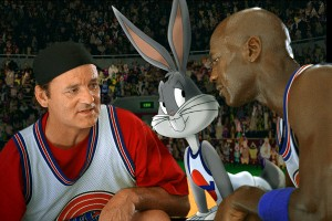 Bill Murray, Bugs Bunny, Michael Jordan