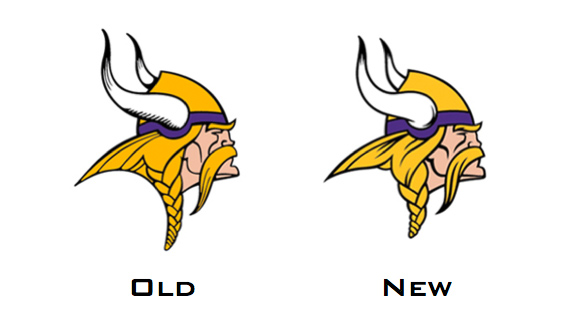 Vikings make small change to logo