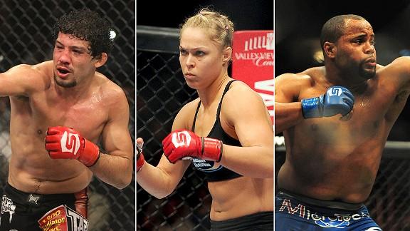 Gilbert Melendez/Ronda Rousey/Daniel Cormier