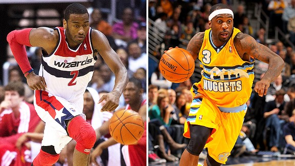 John Wall and Ty Lawson