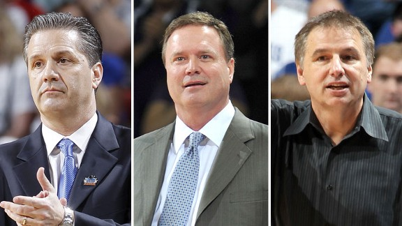 John Calipari, Bill Self and Larry Eustachy