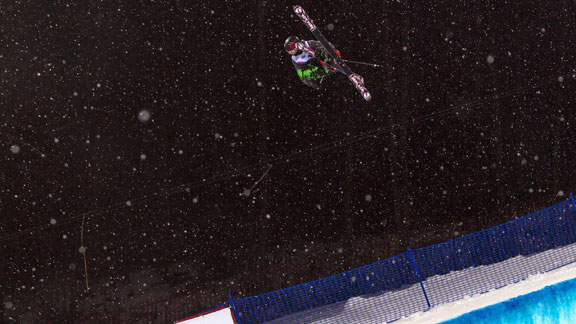 Torin Yater-Wallace won the first World Cup halfpipe in Sochi.