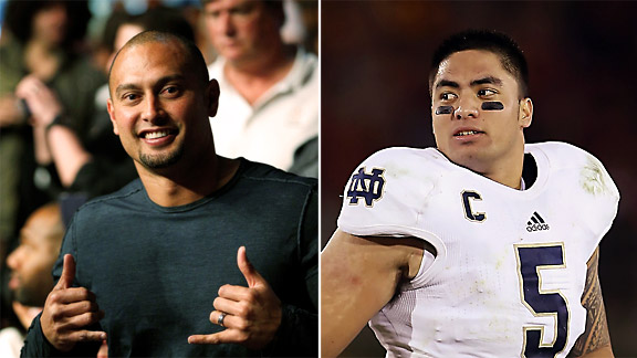 Shane Victorino, Manti Te'o