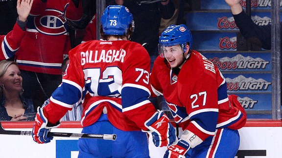 Alex Galchenyuk, Brendan Gallagher