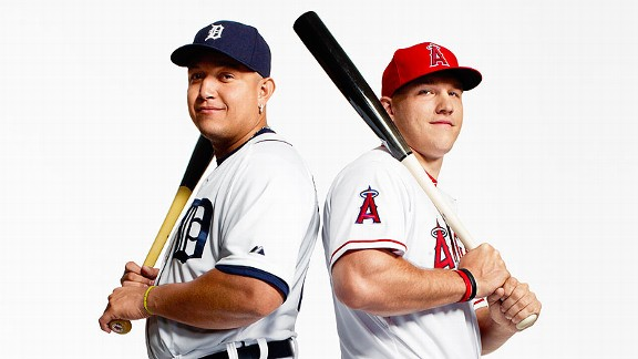 Miguel Cabrera, Mike Trout
