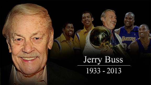 Adande: Jerry Buss: 'I love winning!'