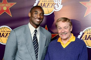 Kobe Bryant and Dr. Jerry Buss