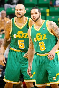 Carlos Boozer and Deron Williams