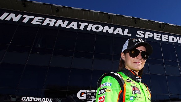 Danica Patrick of NASCAR, at Daytona International Speedway
