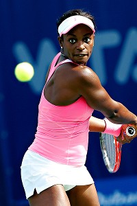 Sloane Stephens, a career-high 16th in the world since ousting Serena Williams in Melbourne, lost to Sorana Cirstea in three sets.
