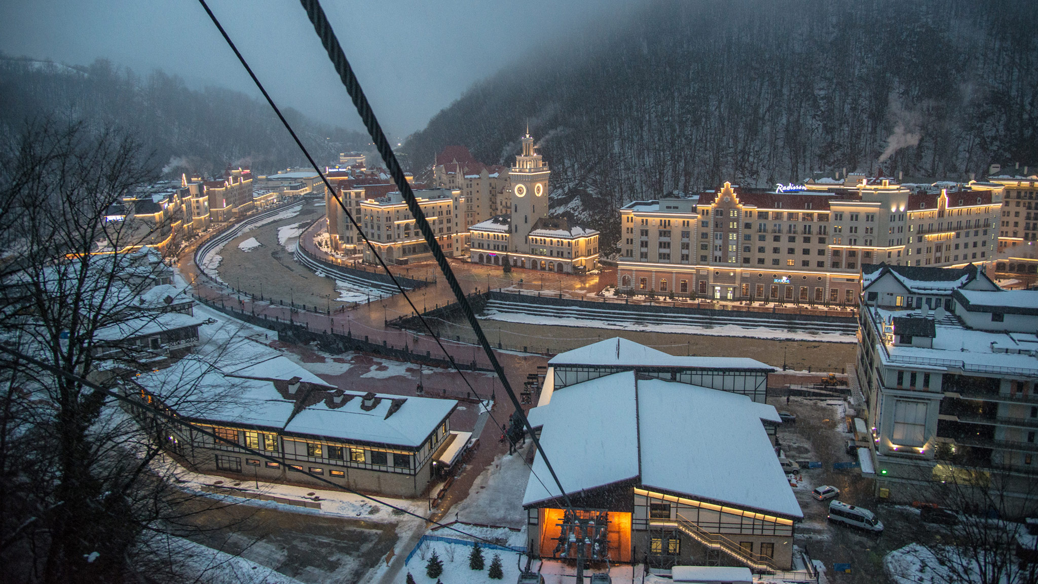 New Year at Rosa Khutor 2019 93