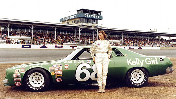 Janet Guthrie holds the record for the best finish by a woman in a top-tier NASCAR race, a sixth-place finish at Bristol in 1977.