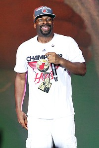 DJ Irie with the Miami Heat