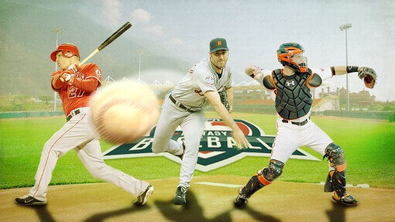 Fantasy Baseball Illustration