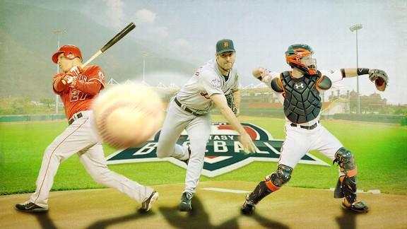 Fantasy Baseball Illustration