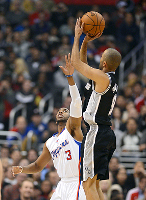Tony Parker and Chris Paul