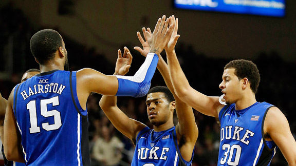 Josh Hairston, Quinn Cook, Seth Curry