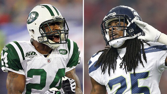 Darrelle Revis and Richard Sherman