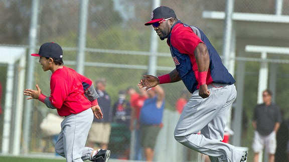 David Ortiz and son