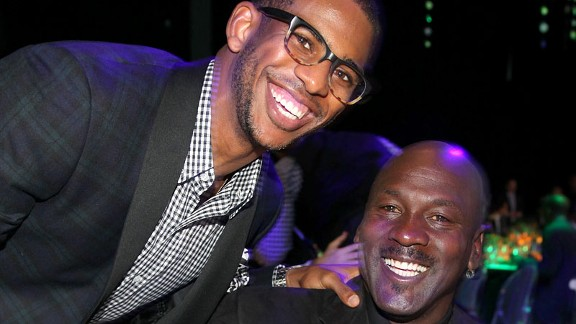 Michael Jordan and Chris Paul