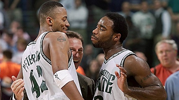 Morris Peterson and Mateen Cleaves made up part of the