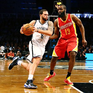 Deron Williams and James Harden