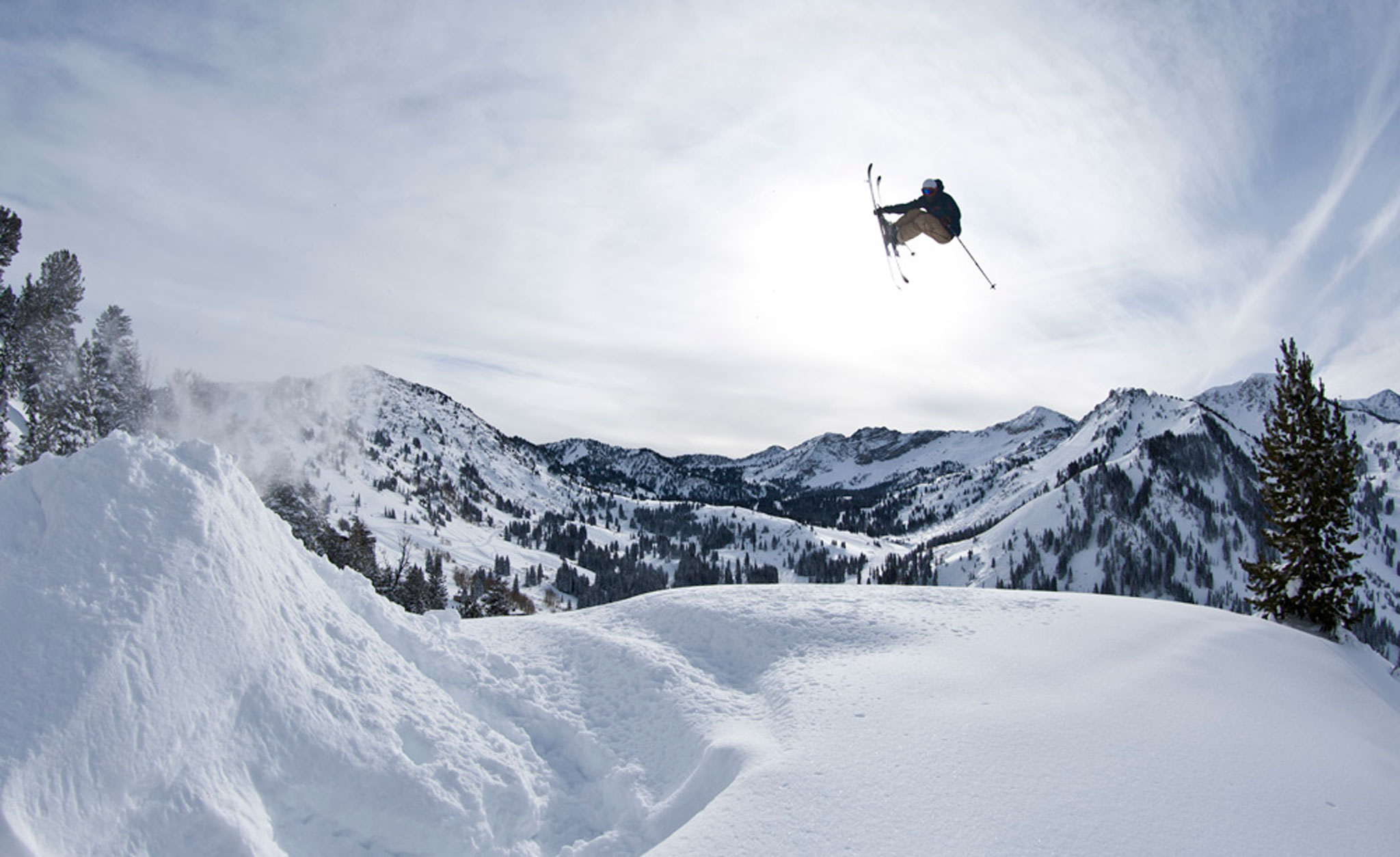 Pep Fujas filming his Real Ski Backcountry part this winter.
