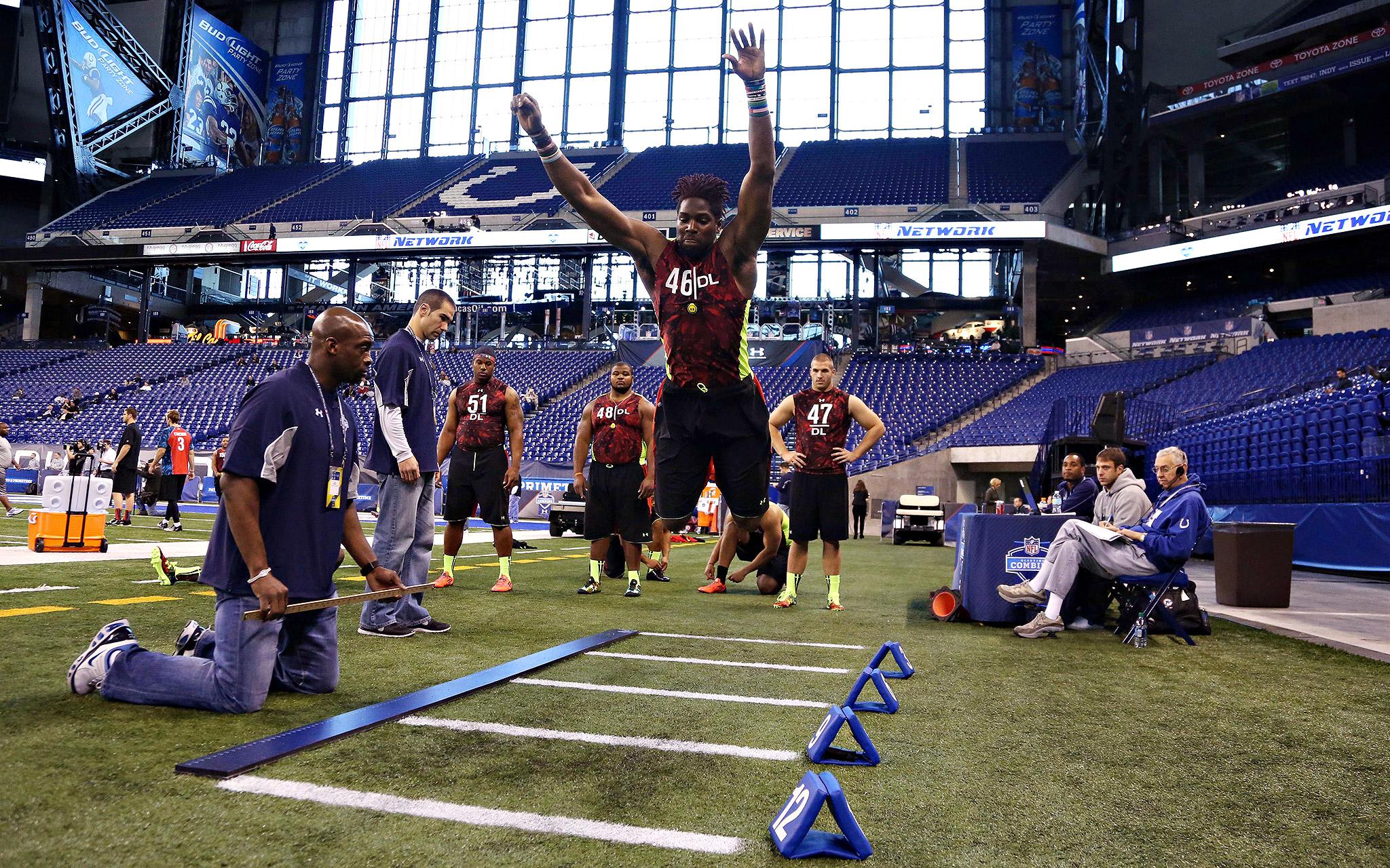 Leap Of Faith - NFL Combine - ESPN