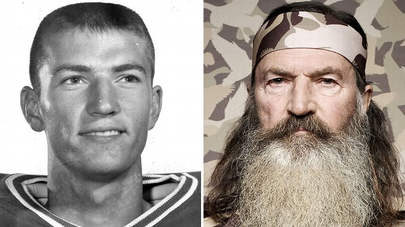 How good was Phil Robertson at football?