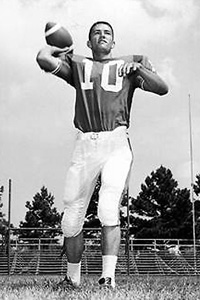 Phil Robertson as quarterback of Louisiana Tech