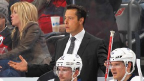 Head coach Guy Boucher of the Tampa Bay Lightning