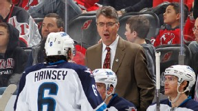 Head coach Claude Noel of the Winnipeg Jets