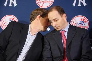 Steinbrenner Cashman Yankees