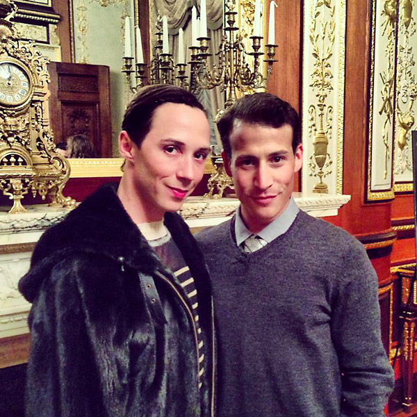 Johnny Weir, Victor Voronov