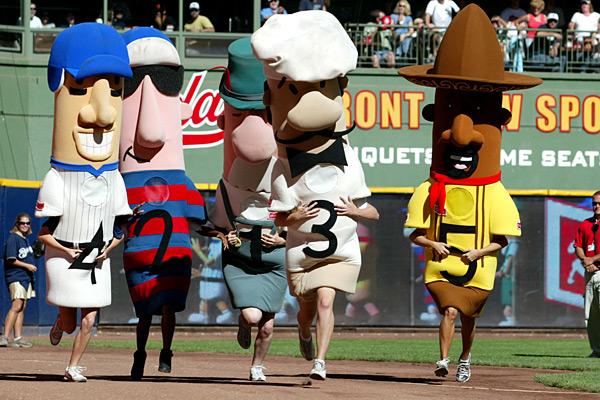 Report Milwaukee Brewers Missing Italian Sausage Costume