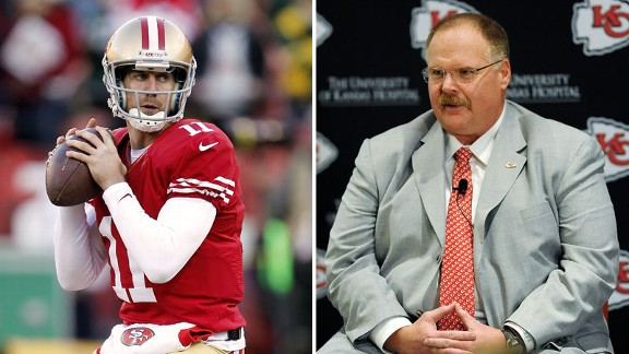 Alex Smith, Andy Reid