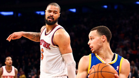 Tyson Chandler, Stephen Curry