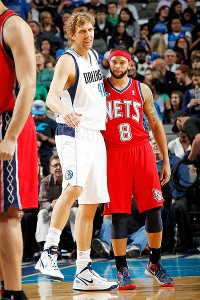 Dirk Nowitzki and Deron Williams