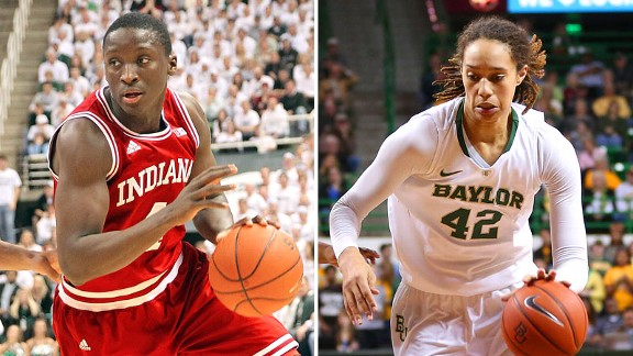 Victor Oladipo and Brittney Griner
