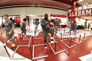 Alabama strength and conditioning facility