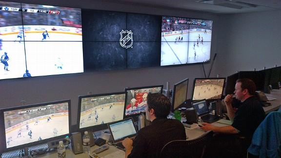 NHL safety war room