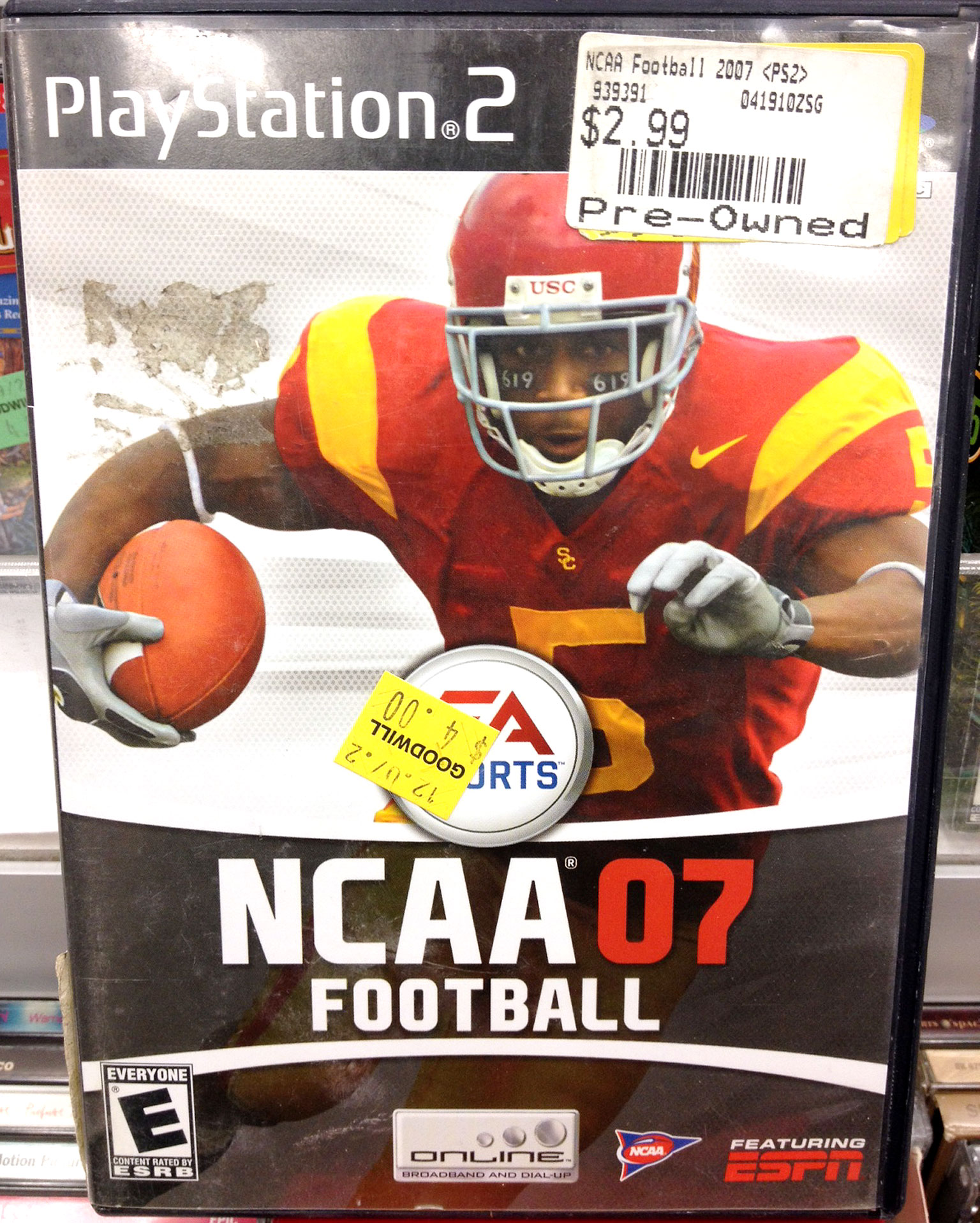 NCAA 2007: $4