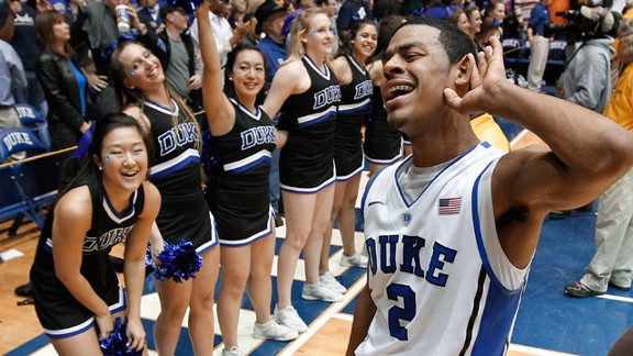 Quinn Cook and Duke solidified a No. 1 seed after dominating North Carolina on the road this weekend.