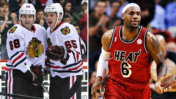 Blackhawks & Heat