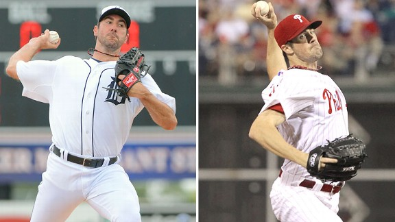 Justin Verlander and Cole Hamels