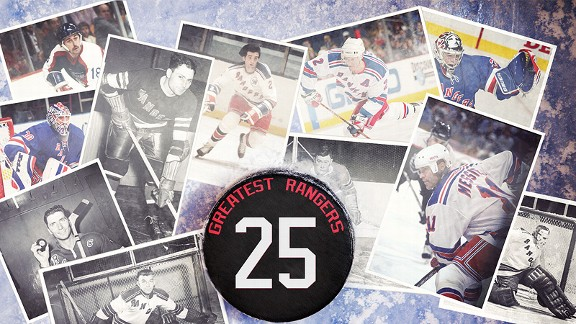 25 Greatest Rangers